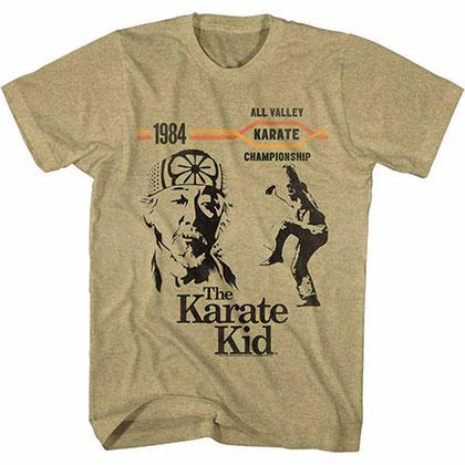 Karate Kid 1984 Champions Beige TShirt