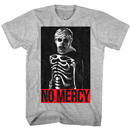 Karate Kid No Mercy Gray TShirt