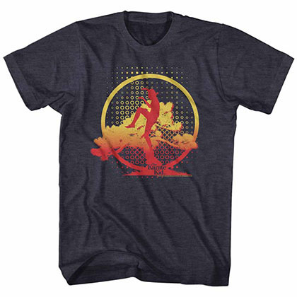 Karate Kid Basai Kick Blue TShirt