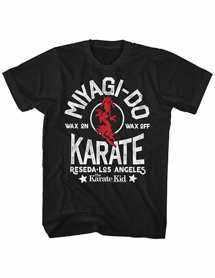 Karate Kid Miyagi-Do Black TShirt
