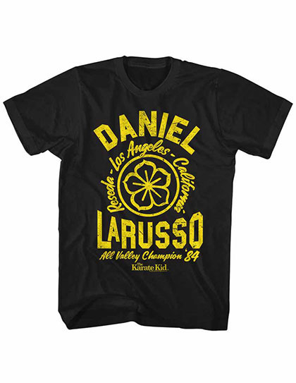 Karate Kid Daneil Black TShirt