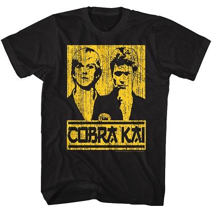 Karate Kid Cobra Kai Jonny and Kreese Tshirt