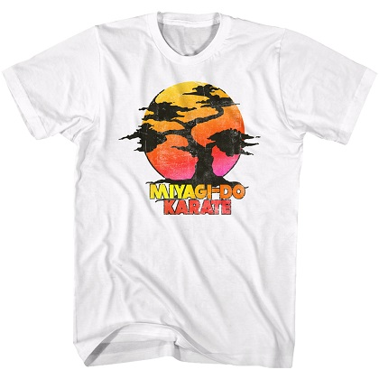 Karate Kid Miyagi Do Karate Bonzai Tree Tshirt