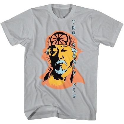 Karate Kid Miyagi Silver Tshirt