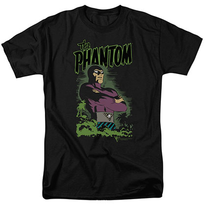 The Phantom Jungle Protector Black T-Shirt