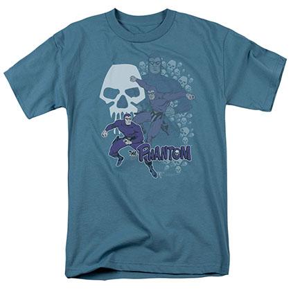 The Phantom Skulls Blue T-Shirt