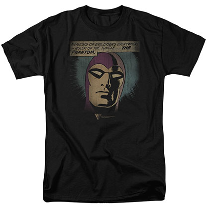 The Phantom Evildoers Beware Black T-Shirt