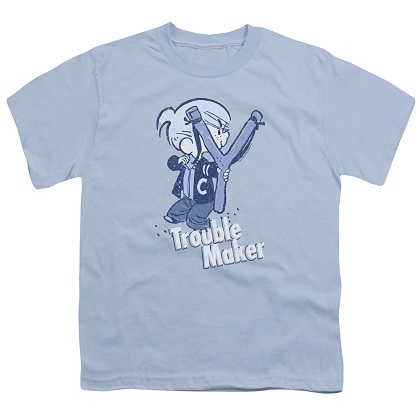 Dennis The Menace Trouble Maker Youth Tshirt