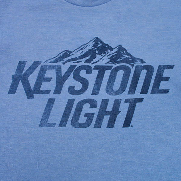 Keystone Light Basic Logo Tee - Blue