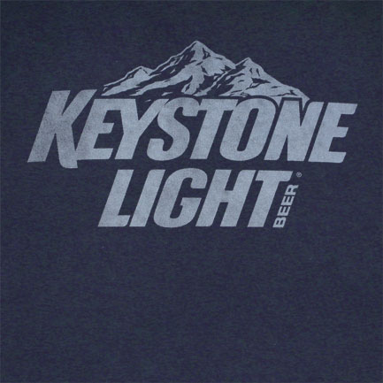 Keystone Light Logo Tshirt