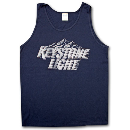 Keystone Light Beer Logo Men's Tank Top