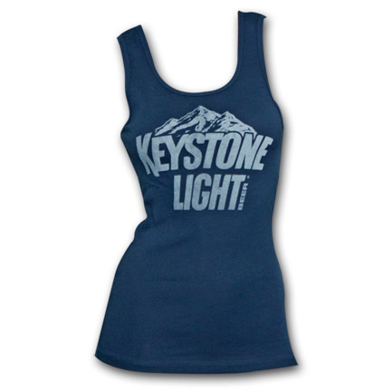 Keystone Light Beer Logo Women's Tank Top