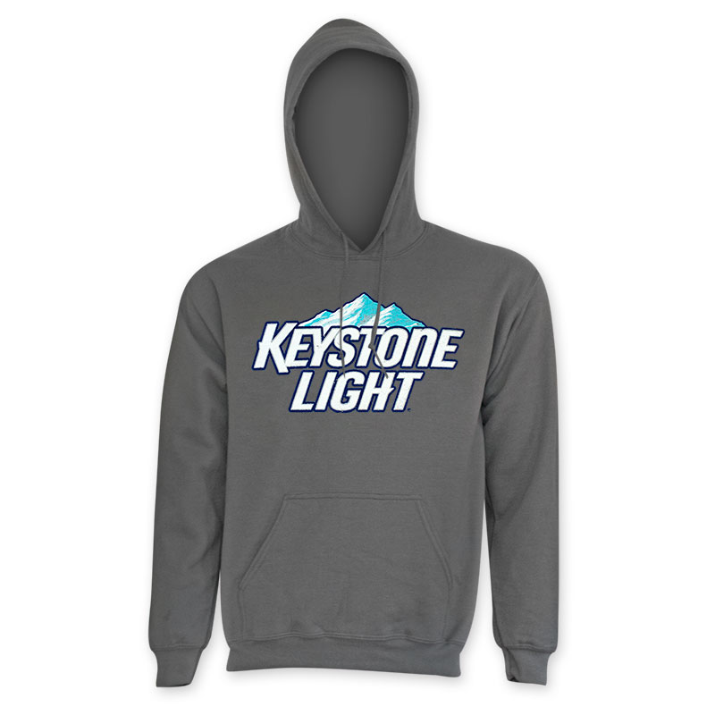Keystone Light Grey Hoodie