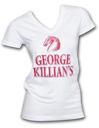 Killians Irish Red Beer Women's V-Neck Shirt