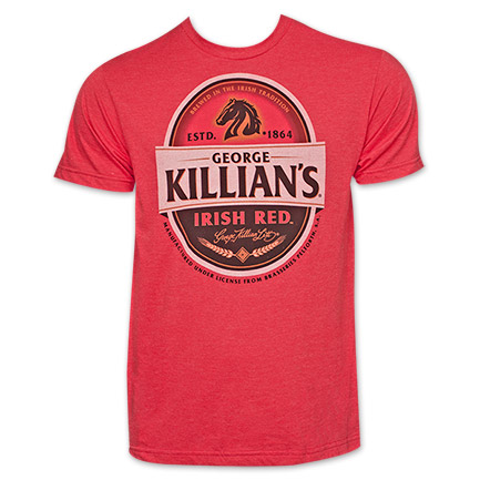 Killian's Irish Red Label TShirt - Red