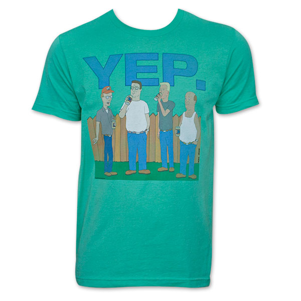 King of The Hill Shirt King of The Hill Men's Yep t