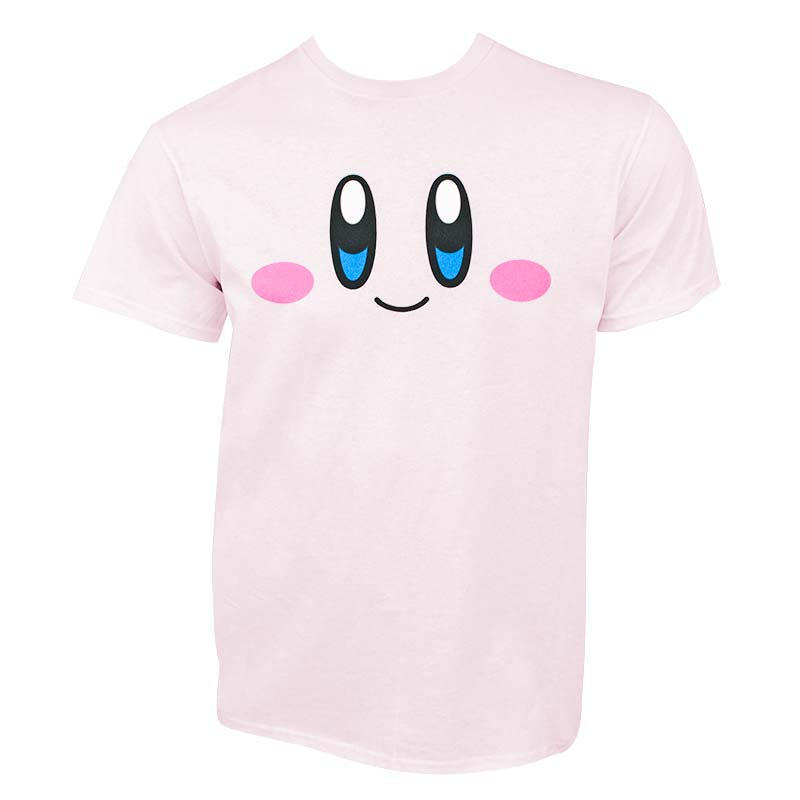 Nintendo Kirby Face Pink Men's T-Shirt