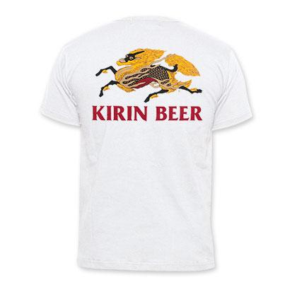Kirin Beer Logo White T-Shirt