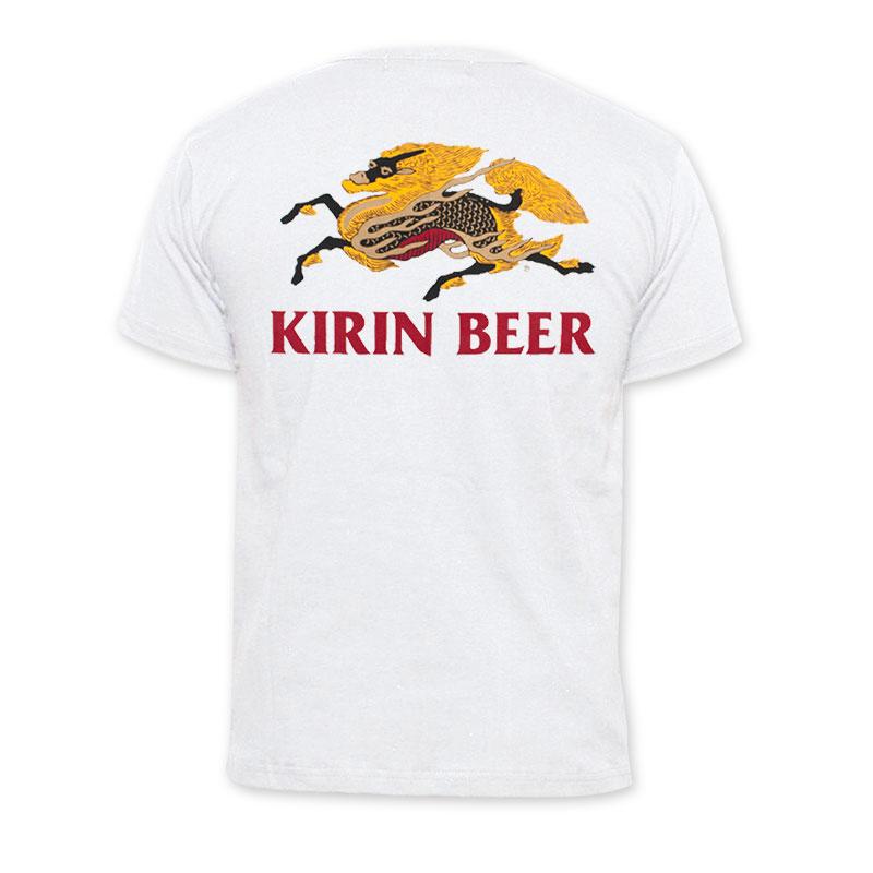 Kirin Beer Logo White T Shirt