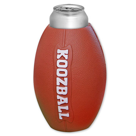 Koozball Football Beer Koozie