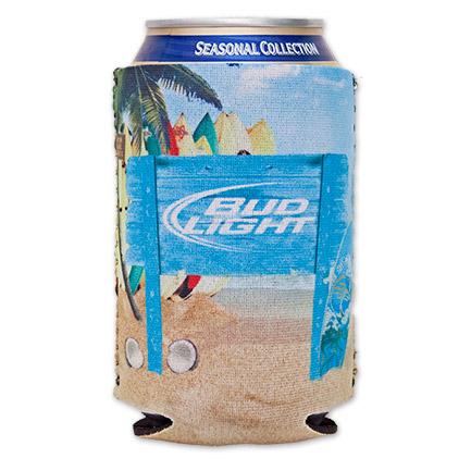 Bud Light Beach Can Koozie