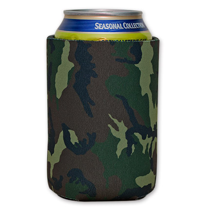Classic Army Camo Beer Can Cooler