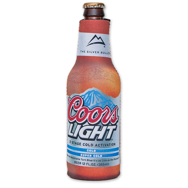 Coors Light Beer Design Bottle SuitCooler | WearYourBeer.com