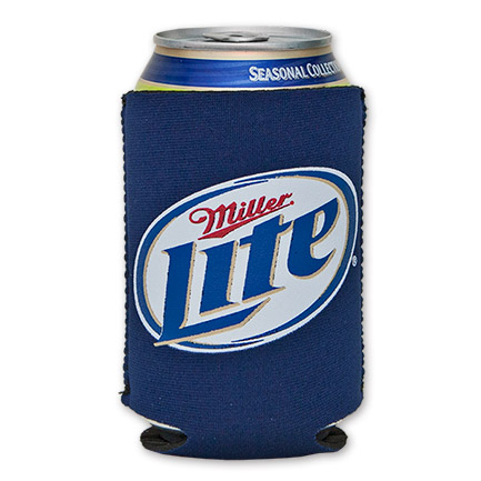 Miller Lite Logo Cooler Can - Blue