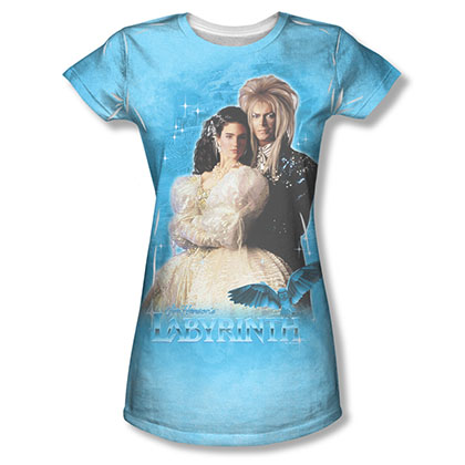 Labyrinth A Dream Sublimation Juniors Tee Shirt