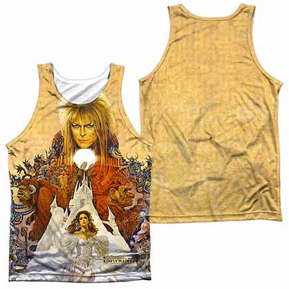 Labyrinth Cover Art Sublimation Tank Top