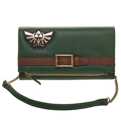 Nintendo Legend Of Zelda Green Clutch Purse