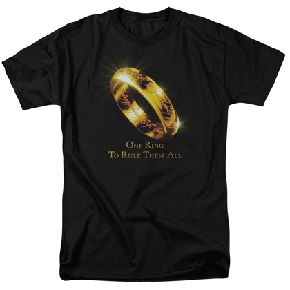 Lord Of The Rings One Ring Tshirt