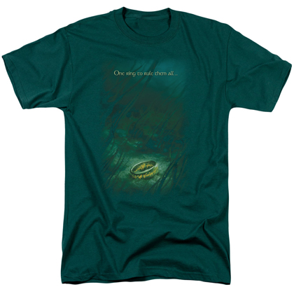 Lord Of The Rings One Ring To Rule Them All Tshirt
