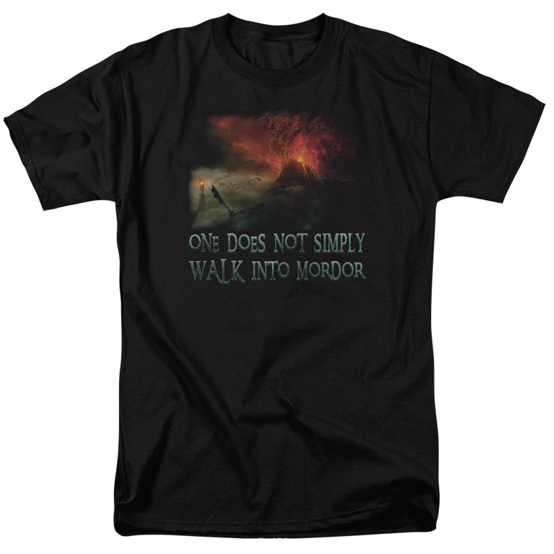 Lord Of The Rings One Does Not Simply Walk Into Mordor Tshirt
