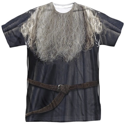 Lord Of The Rings Gandalf Costume Tshirt