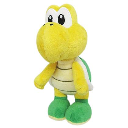 Super Mario Bros. Koopa Troopa 8 Inch Plush Doll Toy