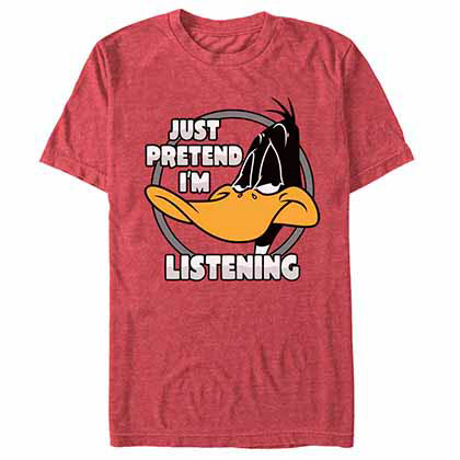 Looney Tunes Just Pretend Red  T-Shirt