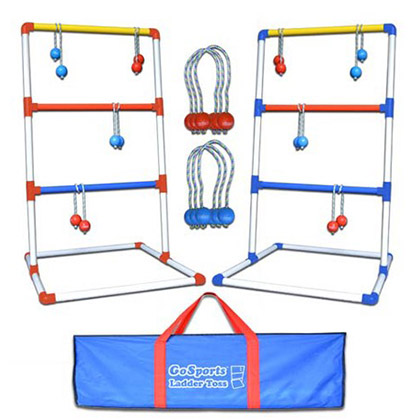 Premium PVC Ladder Toss Lawn Game Set