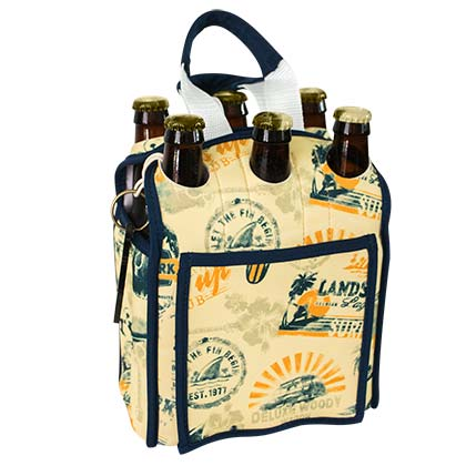 Landshark Six Pack Insulated Tote Bag