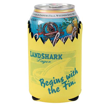 Landshark Beer Can Cooler