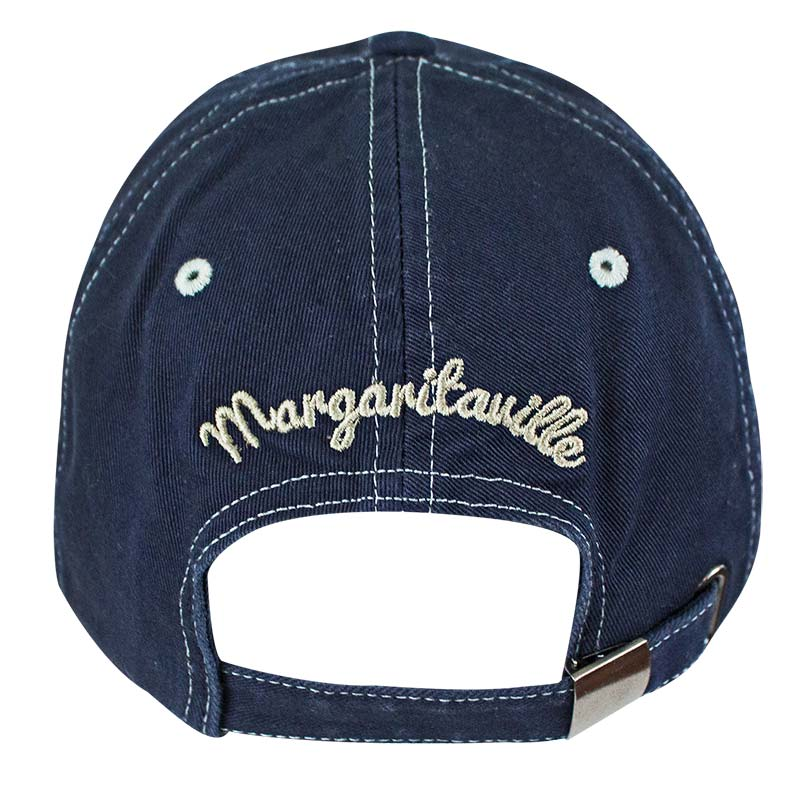 Landshark Margaritaville Fins Up Blue Adjustable Hat