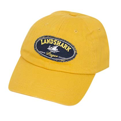 Landshark Adjustable Yellow Hat