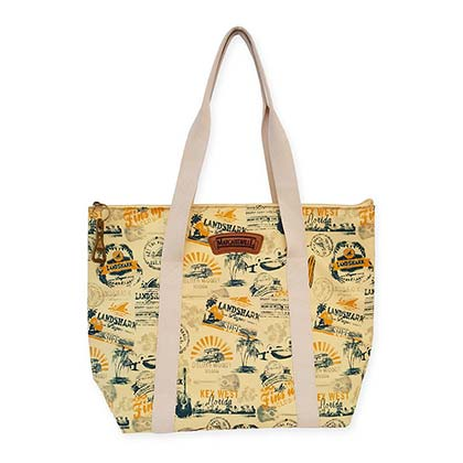 Landshark Insulated Zip Tote Bag