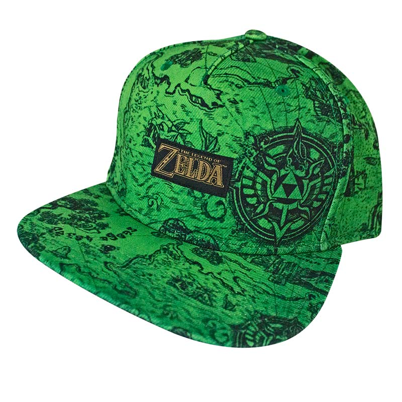 2f481f27 item was added to your cart. Item. Price. Zelda Map Print Snapback Hat