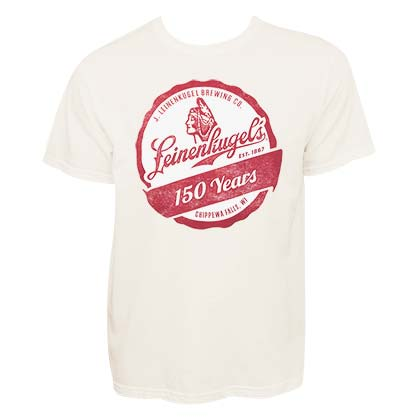 Leinenkugel Men's Cream 150 Years T-Shirt