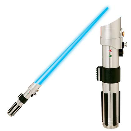 Star Wars Blue Luke Skywalker Light Saber