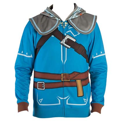 The Legend Of Zelda Breath Of The Wild Link Cosplay Men's Hoodie