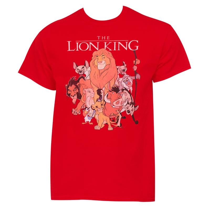 Disney Lion King Red Shirt