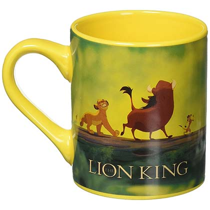 Lion King 14oz Ceramic Yellow Mug