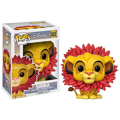 Funko Pop Vinyl Lion King Simba Figure